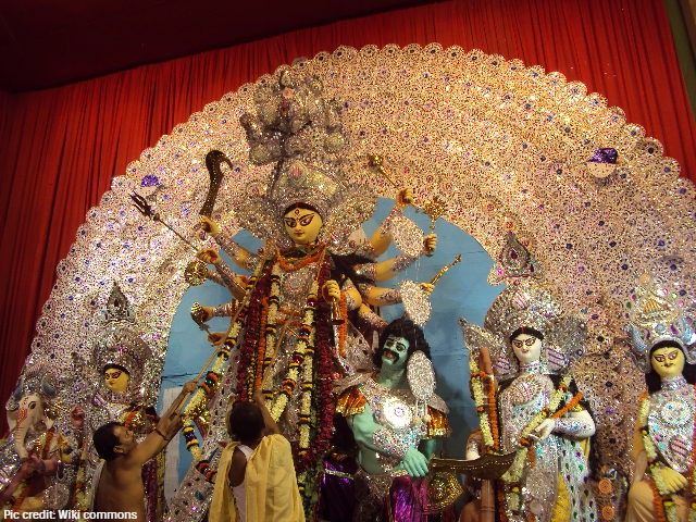 Durga Puja Garlands For Her