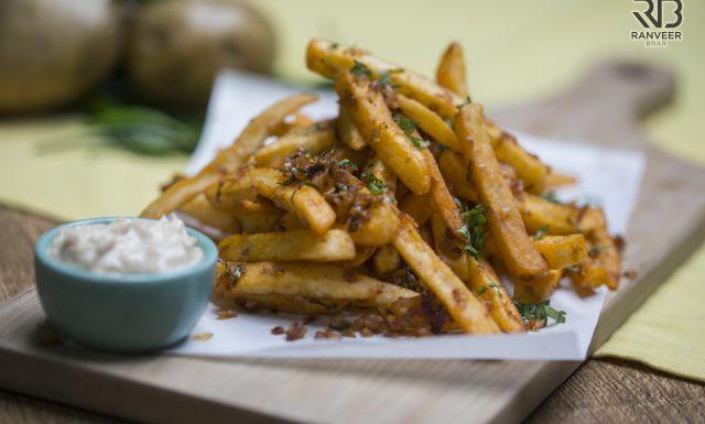 Masala French Fries Recipe - Ranveer Brar